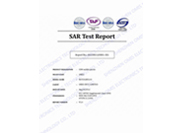 SAR Test Report